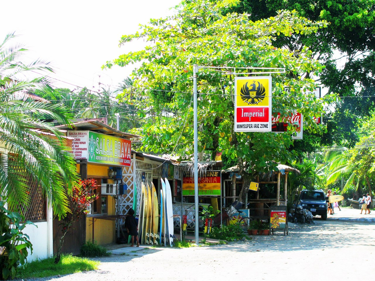 Shopping options in Puerto Viejo
